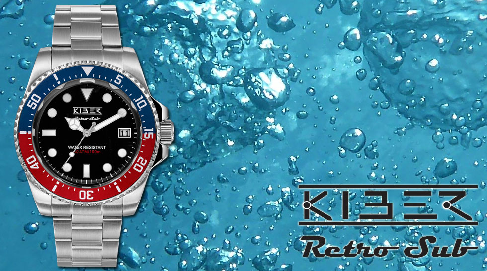 Kiber Retro Sub rood blauw