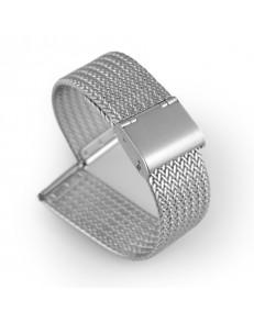 Kiber 22mm Mesh roestvrijstalen horlogeband universeel