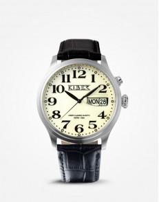 Kiber Iluma RVS horloge
