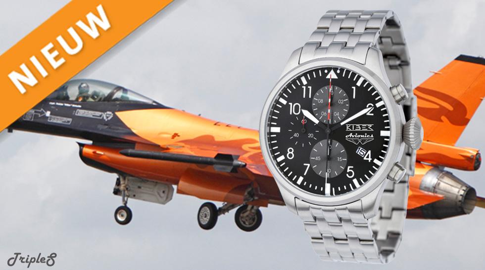 Kiber® Avionics RVS Zwart